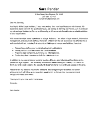 cover letter for a paralegal template cover letter for a paralegal