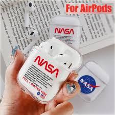 Cool <b>Airpods Case</b> NASA American Astronaut Space <b>Cover Case</b> ...