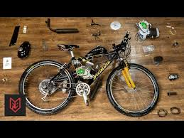 How to Build a 2-Stroke <b>Motorized Bicycle</b> in 6 Minutes - YouTube