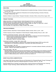 college dean resume resume in college