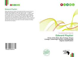 search results for british undergraduate degree classification bookcover of edward playfair