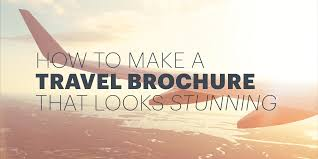 How to Make an Awesome Travel Brochure [With Free Templates]