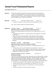 simple samples of resume summary shopgrat resume sample general summary examples for a resume templates sample administrative ass simple