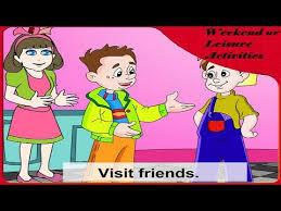 Weekend or <b>Leisure Activities</b>    Kids Learning    <b>Cartoon</b> Videos ...