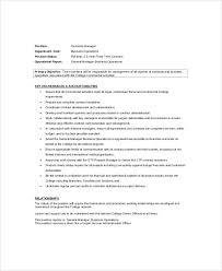 plant manager job description contract manager job description