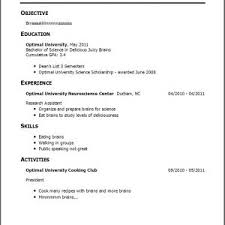 resume  examples of experience for resume  corezume coresume  no experience resume examples good resume examples for college students with no experience resume