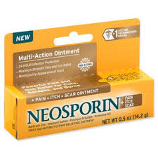 Neosporin® .5 oz. First Aid Antibiotic/<b>Pain</b> Relieving + <b>Pain Itch Scar</b> ...