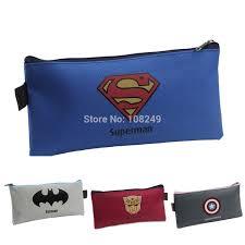 Compre <b>2015 New Fashion Boy</b> Super Hero School Pencil Bags ...