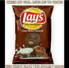 deez nuts potato chips meme | Deez Nuts !! | Pinterest | Meme ... via Relatably.com
