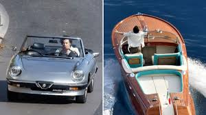 <b>Harry Styles</b> Drives Sports Car, Speedboat for New Music Video