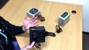 Видеообзор <b>блоков питания GameMax</b> GM-400, GM-450, GM-500 ...