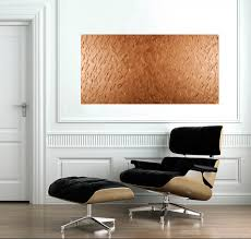 abstract copper texture painting by qiqigallery 48x24 original modern abstract wall paintings acrylic art office wall artabstract paintings art for office walls