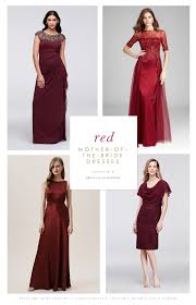 <b>Red Mother</b> of the Bride Dresses