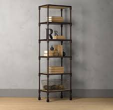 mesmerizing industrial style bakers rack kitchen dutch industrial tower   special   our distressed shelving pairs the w