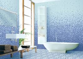 blue bathroom tile ideas: blue bathroom floor tile superb blue bathroom floor tile ideas with water pattern mixed
