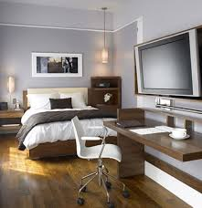 masculine bedroom with office design bedroom office designs home office bedroom