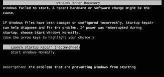 Resultado de imagem para janela de correção de erros win 7