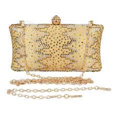 <b>Fashion Pink</b> Evening Box Bag Carving Flower Clutch <b>Wedding</b> ...