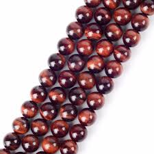 <b>LanLi</b> 4/6/8/10/12mm <b>fashion</b> Natural jewelry Red Tiger Eye stones ...