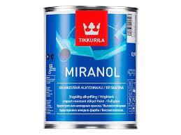 <b>Эмаль</b> Tikkurila <b>Miranol</b> база А белая 0,9 л купить по цене 949 руб ...