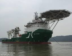 NOR <b>NAOMI</b> (Offshore Supply Ship) Registered in Marshall Is ...