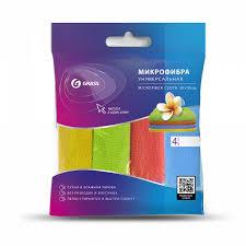 <b>Набор салфеток из</b> микрофибры 30*30 см. 4 шт. - купить по цене ...