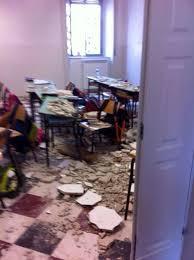 Risultati immagini per foto crollo scuola ostuni