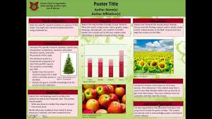 scientific posters