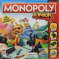 <b>Игрушка Hasbro Monopoly Монополия</b> Junior — купить, цена и ...
