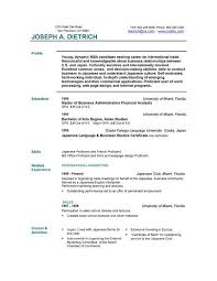 Free Cv Templates For Download | Writing A Cv No Experience Free Cv Templates For Download Download 12 Free Microsoft Office Docx Resume And Cv 85 Free
