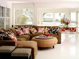 large decorative throw pillows family room eclectic with corner sofa crown molding accent lighting family room
