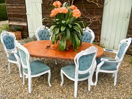 Shabby Chic Dining Room Table Stunning Shabby Chic Antique Victorian Extending Dining Table And