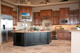 good kitchen rustic  fresh rustic oak kitchen cabinets style home design classy simple