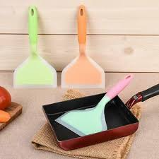 <b>Shovel</b> Spatula Silicone Cooking Wide <b>Turner</b> Nonstick for Cake ...