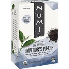 Emperor's Pu·erh | FREE 1-3 Day Delivery - Numi Organic Tea
