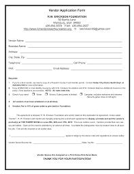 vendor registration form template vendor application form template vendor registration form template dimension n tk