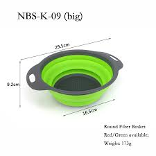 China <b>Foldable Silicone</b> Rubber Fruit Vegetable Container Storage ...