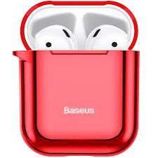 <b>Чехол Baseus Shining Hook</b> Case для Apple AirPods 1/2 Красный ...