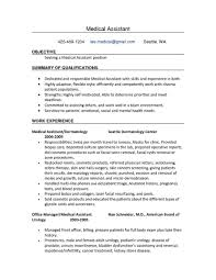medical assistant resume examples samples of resumes for medical resume template medical assistant objective resume medical resume sample for medical assistant internship objective for resume
