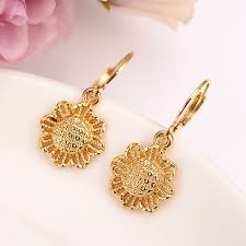 Earrings For Women <b>Fashion Jewelry Gold Color</b> african Arab ...