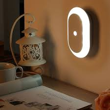 Wireless Intelligent Sensor <b>LED Night Light</b> PIR Human Body ...