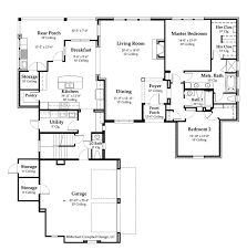 House Plan  sqare feet  New Orleans Style House Plan    New Orleans House Plan  middot  st Floor Plan