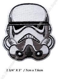 Online Shop Star Wars Stormtrooper Calavera Helmet Iron On ...