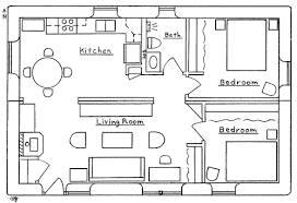 trailer house plan   Earthbag House PlansDouble Wide