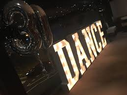 light up letters we supply light up letters to hire for northamptonshire and beyond including love i do dance