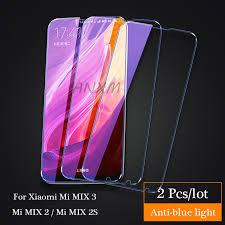 <b>2Pcs</b>/<b>lot</b> Full Cover Tempered Glass For <b>Xiaomi Mi</b> MIX 2 2s 3 MIX3 ...