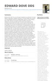 pediatric dentist resume samples   visualcv resume samples databasepediatric dentist resume samples