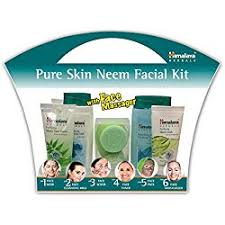 Buy Himalaya <b>Pure</b> Skin Neem Facial Kit With Face Massager and ...