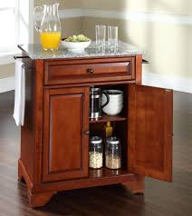 Portable Kitchen Island With Granite Top Buy Cambridge Solid Granite Top Portable Kitchen Island W Bun Feet