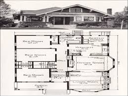 Vintage Bungalow Floor Plans American Bungalow Floor Plans
